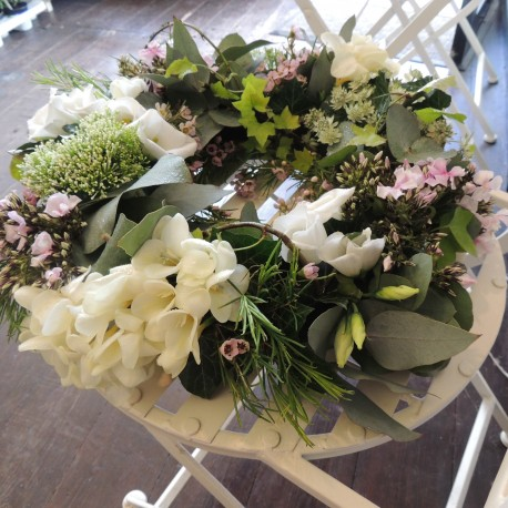 Natural Funeral Wreath
