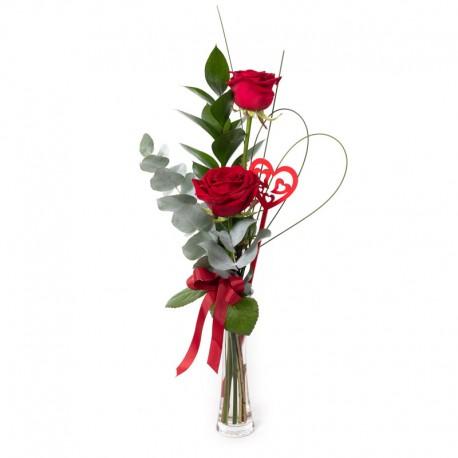 Pucker Up vase arrangement